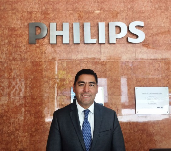 César Carrasco como Director General y Líder de Health Systems para Philips en México