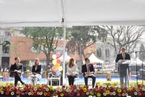 En el evento estuvieron presentes los directores de hospitales del Sector Salud tales como César Athié, Director General del Hospital General de México, el del Infantil de México, doctor Alberto García Aranda, así como representantes de fundaciones y organizaciones de la sociedad.
