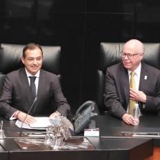 IMSS es hoy más grande y fuerte que nunca en su historia: senador Ernesto Cordero