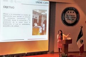 Se expusieron instrumentos para colaborar en la identificación de nuevas sustancias psicoactivas en nuestro país.