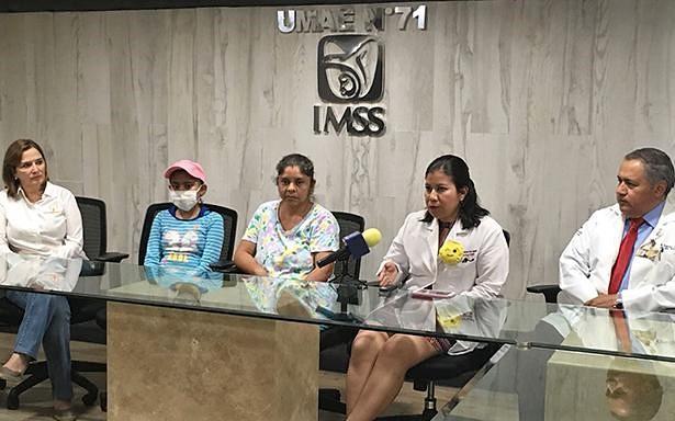 En la Unidad Médica de Alta Especialidad del IMSS en Coahuila la paciente recibió las células para recuperar la producción de glóbulos rojos, blancos y plaquetas.