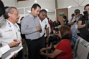 El Director General, Tuffic Miguel, supervisó las obras de remodelación, en las que se invierten 13 millones de pesos.