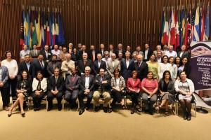Expertos de la academia, investigadores, representantes de ministerios de Salud de países de América Latina, el sector privado y la sociedad civil, convocados por la OPS en Washington para discutir sobre la situación actual del la enfermedad del Chagas