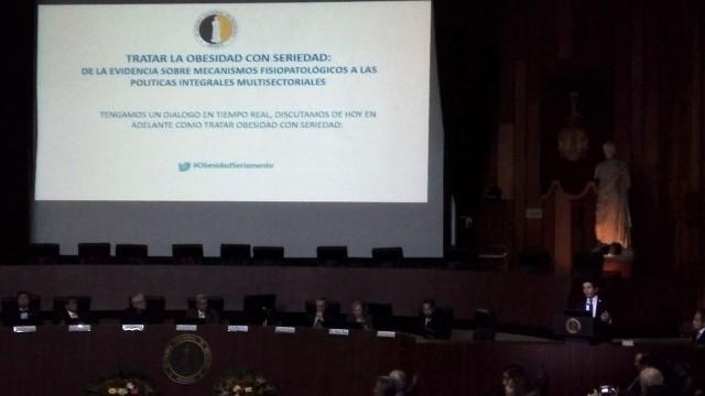 Inicio de la ponencia