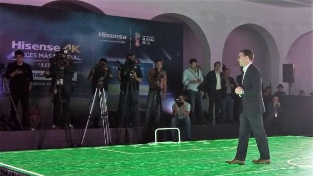 Hisense anuncia transmisión exclusiva de la Copa Mundial de la FIFA en 4K