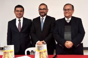 En la conferencia de prensa se contó con la participación del Dr. José Antonio Magaña, Coordinador del Capítulo de Falla Cardiaca y el Dr.Jose Angel Cigarroa López,