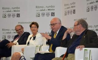 El Secretario de Salud, José Narro, encabezó la presentación del libro Ritmo y rumbo de la salud en México