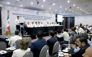 El Director General del IMSS, Tuffic Miguel; encabezó la Reunión Regional de Consejos Consultivos y Juntas de Gobierno de Unidades Médicas de Alta Especialidad (UMAE) de los estados de Guanajuato, Aguascalientes, Querétaro, San Luis Potosí y Zacatecas.