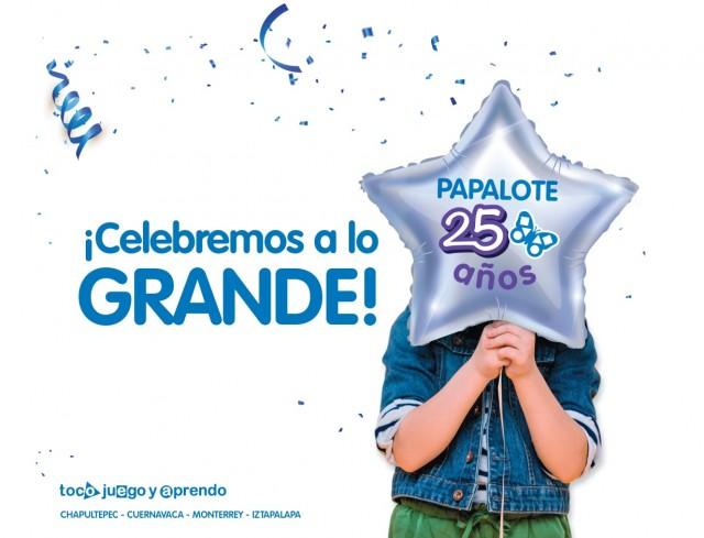 Celebrar y agradecer, son dos de los principales objetivos que tiene PAPALOTE MUSEO DEL NINO A.C.