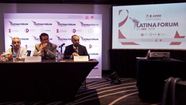 Conferencia de prensa para dar a conocer la situación actual en México y Latinoamérica de la Estrategia 90-90-90 de Onusida, que pretende acabar con la epidemia del VIH en el mundo.