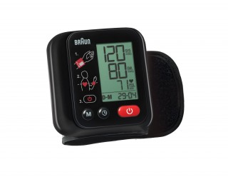 Braunpresenta una con su monitor de presión sanguínea Braun VitalScan3. Cuenta con controles rápidos y fáciles de la presión arterial. Las funciones avanzadas, como la detección de latido cardiaco irregular y la función media, ayudan a controlar la salud del corazón.