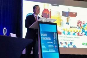 El Comisionado Federal para la Protección contra Riesgos Sanitarios, Julio Sánchez y Tépoz, subrayó la importancia de contar con un marco regulatorio moderno y transparente, que promueva el desarrollo integral del mercado farmacéutico nacional en beneficio de la salud de la población.