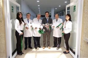 El Director General, Tuffic Miguel, puso en marcha la ampliación de infraestructura académica para capacitar a los médicos y mejorar el servicio a pacientes con cáncer.