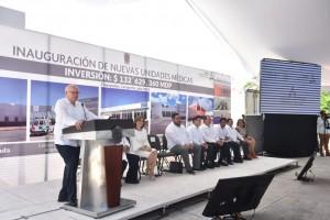 En gira por Campeche, el Secretario de Salud, José Narro Robles, afirmó que se mantendrá el trabajo hasta el último día de la administración, en favor de la salud de los mexicanos