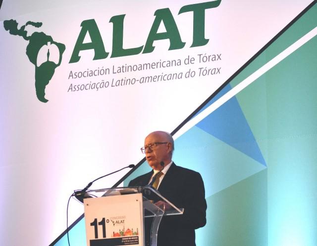 El Secretario de Salud, José Narro Robles, encabezó el 11⁰ Congreso de la Asociación Latinoamericana del Tórax (ALAT)