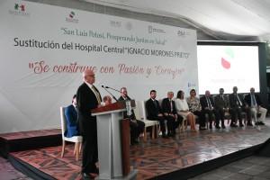 Narro reconoce a SLP trabajo de JM Carreras para fortalecer legado de HC.