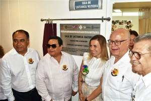 A través del Voluntariado Nacional de Salud, organización que preside Carmen Narro, Guerrero se ha beneficiado con programas que protegen, promueven y respaldan la lactancia materna, acciones importantes en favor de la salud.