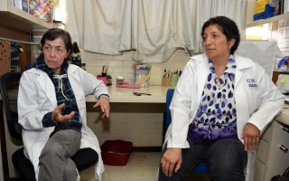 Patricia Bizarro Nevares y Teresa Fortoul van der Goes