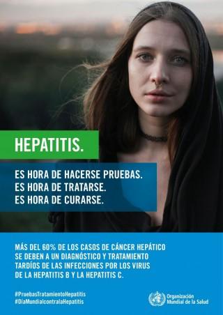Día Mundial contra la Hepatitis 28 de julio de 2018