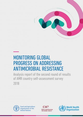 Monitoring global progress on antimicrobial resistance
