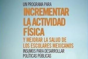 """El libro """"Un programa para incrementar la actividad física y mejorar la salud de los escolares mexicanos. Insumos para desarrollar políticas públicas"""", busca ser replicado en todos los contextos comunitarios."""