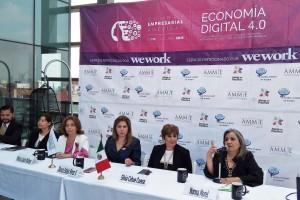 •La AMMJE, organizadora de esta importante cumbre, está conformada por más de seis mil empresarias que dan empleo a 120 mil mexicanos.