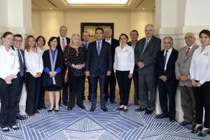 El Director General del Instituto, Tuffic Miguel, encabezó la reunión ordinaria del Consejo Consultivo de la publicación del Seguro Social.