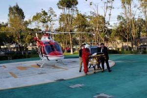 El corazón, hígado y dos córneas arribaron vía área de Tapachula, Chiapas.