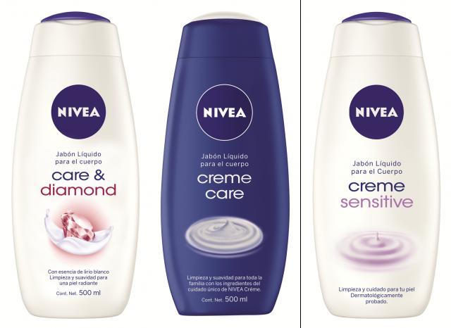 NIVEA ha desarrollado una serie de productos que, con su combinación especial de ingredientes, le ofrecen a tu piel un adecuado cuidado mientras te bañas.