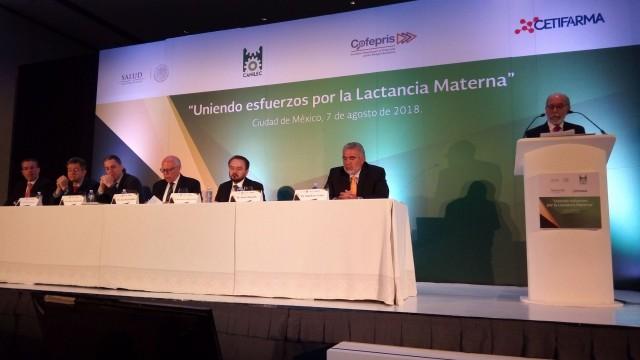 México es líder mundial en la creación, implementación y evolución de una alianza sostenible entre el sector público y el sector privado, con el objetivo de mejorar e incrementar la práctica de la lactancia materna.