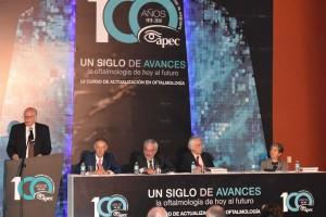El Secretario de Salud participó en la inauguración del LV Curso de Actualización en Oftalmología.