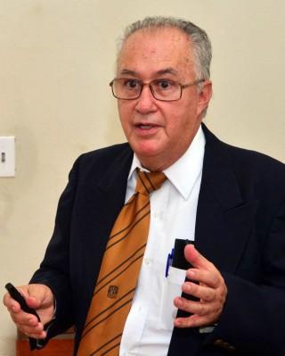 José Antonio Quintana, académico de la Facultad de Medicina Veterinaria y Zootecnia de la UNAM.