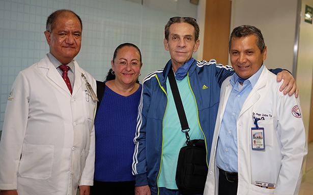 Desde hace dos años, el derechohabiente tenía una enfermedad que disminuye la capacidad del corazón para bombear la sangre al cuerpo.
