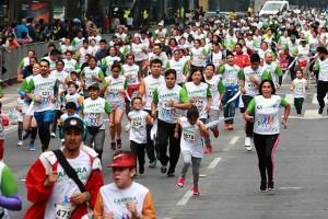En la competencia participaron más de 2, 500 parejas de niños y adolescentes entre los 2 y 17 años, acompañados de un adulto.