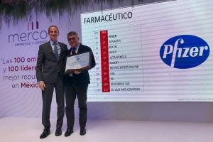 Rodrigo Puga, Presidente y Director General de Pfizer México, fue reconocido por MERCO como el Líder con Mejor Reputación de la industria farmacéutica nacional.