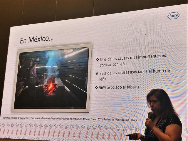 En México se registran anualmente 10 mil nuevos casos de cáncer de pulmón.