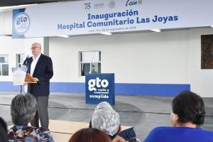 El Secretario de Salud y el Gobernador de Guanajuato inauguraron el Hospital Comunitario Las Joyas, en la ciudad de León