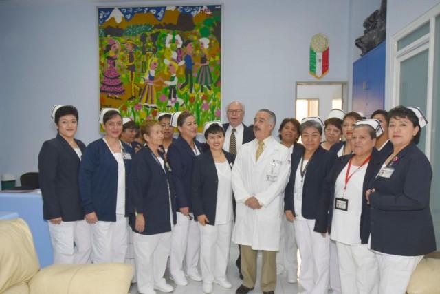 El titular de Salud, José Narro Robles, constató las obras de remodelación del Instituto tras el sismo del 19 de septiembre de 2017 y reconoció la labor de las y los especialistas y trabajadores en beneficio de la niñez de México.