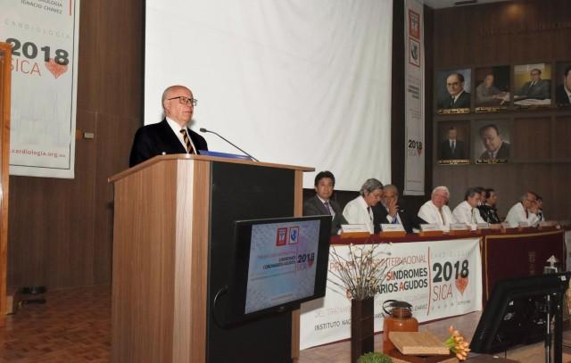 El Secretario de Salud inauguró el Primer Curso Internacional de Síndromes Coronarios Agudos.