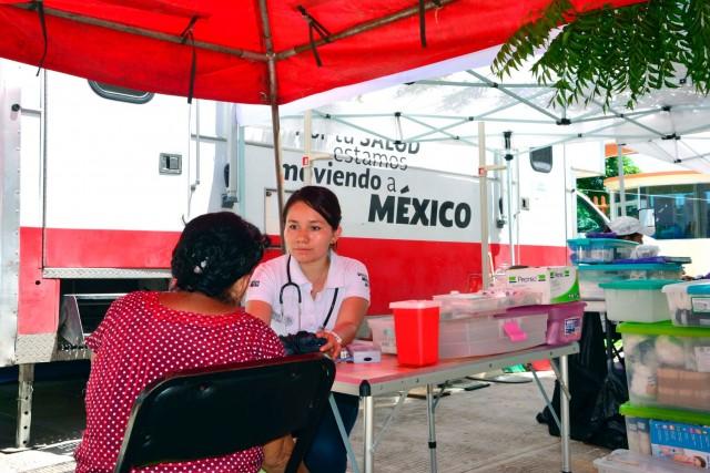 Durante la contingencia, el Sector Salud brindó atención médica a cerca de 227 mil personas.