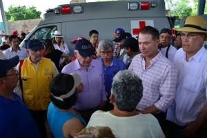José Narro Robles, supervisa acciones sanitarias en Sinaloa