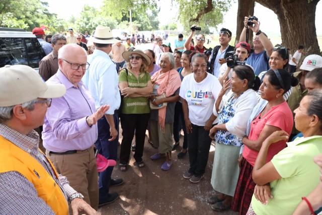 El Secretario de Salud, José Narro Robles, afirmó que se trabajará hasta el último día de la administración para garantizar la salud de los sinaloenses.