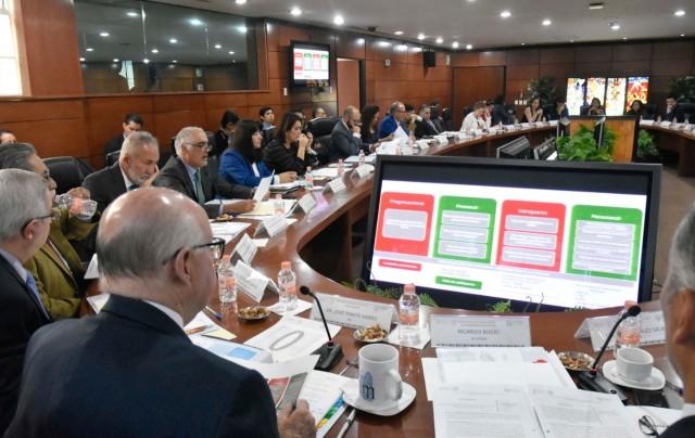 El Secretario Técnico de esta Comisión, Ricardo Bucio Mújica, destacó los avances del trabajo de este organismo intersecretarial.