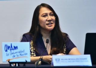 Silvia Morales Chainé, coordinadora de los Centros de Formación y Servicios Psicológicos de la Facultad de Psicología de la UNAM.