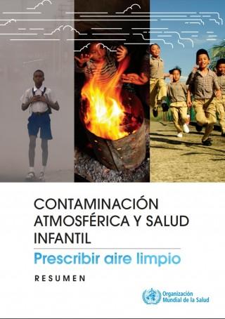 Contaminación del aire y salud infantil: prescribimos aire limpio