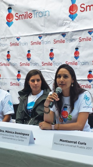 Dra. Mónica Domínguez, directora de Smile Train México, Centro América y el Caribe