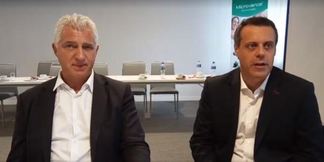Ing. Pablo Rodríguez Sierra, CEO de Ysonut WorldWide, y el Dr. José Antorio Casermeiro Costa, Médico Formador de Ysonut Academy España.