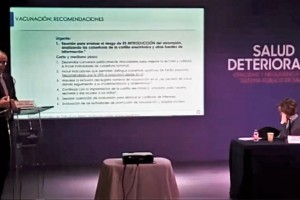 """Presentación del estudio """"Salud deteriorada. Opacidad y negligencia en el sistema público de salud"""""""