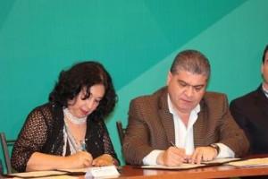 CONADIC y Coahuila signan convenio para la implementación del Protocolo de Prevención y Atención de las Adicciones.