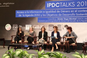 Foro Internacional IPDC Talks México, al que convoca la senadora Martha Lucía Micher Camarena.